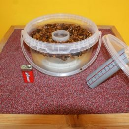 Induction feeder – round – complete set
